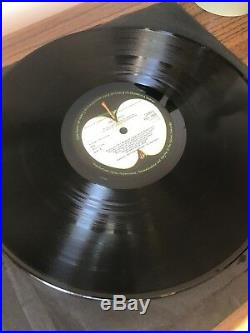 The Beatles White Album Numbered 0301321 Vinyl Pcs7068 Stereo Toploader
