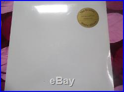 The Beatles, White Album, Rare Official Lmited Edition 2 Lp White Vinyl (sealed)