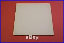 The Beatles White Album STEREO WHITE VINYL UK Original 2 LP TOP AUDIO PCS 7067-8