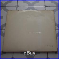 The Beatles White Album Top Opener Numbered COMPLETE Stereo 1st Press Vinyl VG