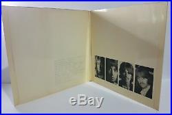 The Beatles White Album UK 1968 1st Pressing Vinyl Ex+ Cover Ex+
