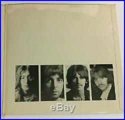 The Beatles White Album UK 1st Vinyl & Cover Ex+ Poster/Photos/inners Nr Mnt
