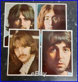 The Beatles White Album UK VERY 1st Mono Press Vinyl LP NO EMI November 1968
