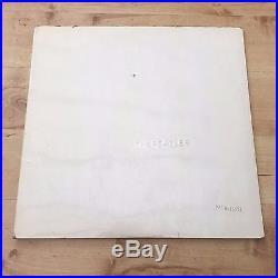 The Beatles White Album Very Low Numbered 15574 (Vinyl LP)