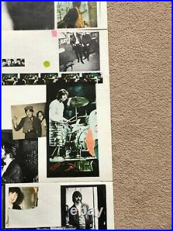The Beatles White Album Vinyl 1968 UK Numbered Mono Top Opener with Poster