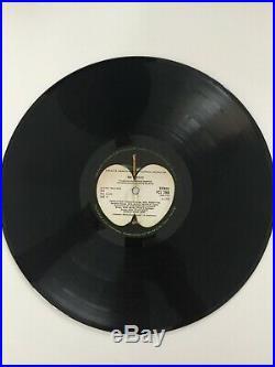 The Beatles White Album Vinyl LP Original 1968 Press Excellent