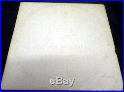 The Beatles White Album Vinyl LP UK Export Parlophone PCS 7067 Rare Numbered