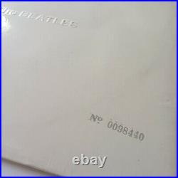 The Beatles White Album Vinyl LP UK Mono Press Low Number Complete EX/EX