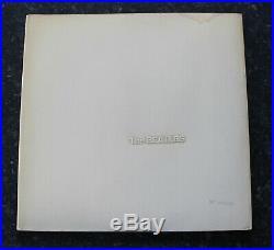 The Beatles White Album Vinyl Lp Uk First Press Mono Top Loader 0005819 Ex