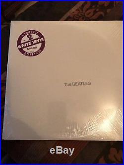 The Beatles White Album White Vinyl Sealed Lp Sebx 11841 Hype