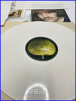 The Beatles White Album / white vinyl U. K. 1978 export EX condition, complete LE