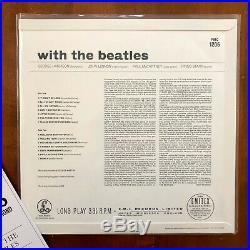 The Beatles With The Beatles 2014 Mono Vinyl LP Rare OOP
