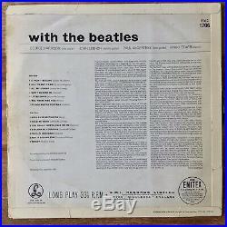 The Beatles With The Beatles (Parlophone PMC 1206) 1st UK Vinyl Jobete / -1N