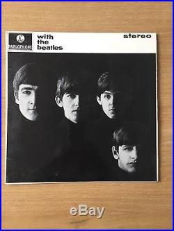 The Beatles With The Beatles Vinyl Lp First Uk Stereo Press Jobete Ex