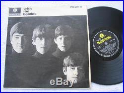 The Beatles With The Beatles Vinyl Record 12 Lp Uk Press Mono