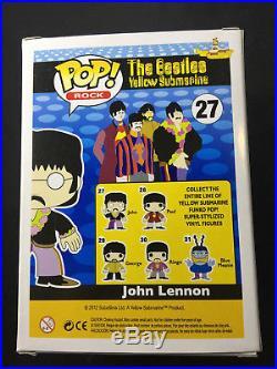 The Beatles Yellow Submarine Funko Pop Rock Vinyl Figure # 27 John Lennon F254