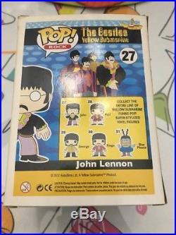 The Beatles Yellow Submarine Funko Pop Rock Vinyl Figure # 27 John Lennon New