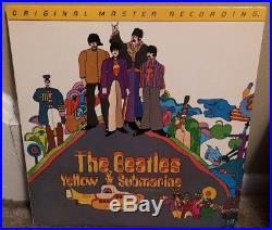 The Beatles Yellow Submarine MFSL Vinyl LP (1986)