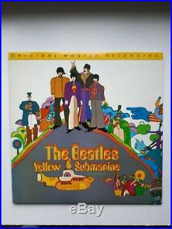 The Beatles Yellow Submarine Mobile Fidelity vinyl First pressing