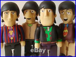 The Beatles Yellow Submarine PVC Vinyl 28cm Action Figures 4 in 1 Full Set A