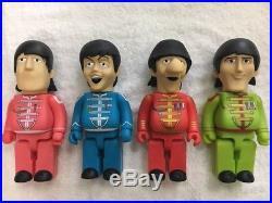 The Beatles Yellow Submarine PVC Vinyl 28cm Action Figures 4 in 1 Full Set B