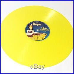 The Beatles Yellow Submarine Rare Yellow Vinyl 1999 NM-/EX+ Superb Copy