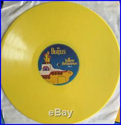 The Beatles Yellow Submarine Songbook Lp Rare Yellow Vinyl Nr Mint Pro Cleaned