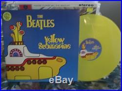 The Beatles Yellow Submarine Songtrack YELLOW VINYL 1st Press 1999 UK LP