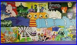 The Beatles Yellow Submarine Songtrack coloured vinyl LP yellow colour OST