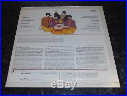 The Beatles Yellow Submarine Vinyl Lp Red Lines Stereo Nm Stunning