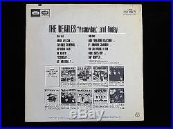 The Beatles Yesterday And Today 2nd State Butcher Album Cover Lp Vinyl Mono Nice