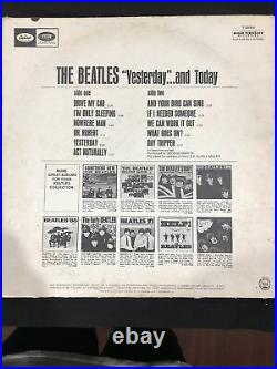 The Beatles Yesterday And Today 2nd State Butcher Cover Vinyl LP Tested Great