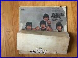 The Beatles Yesterday And Today Authentic Half-Peel Mono LP