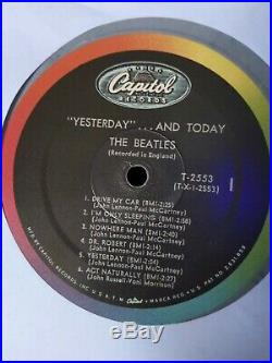 The Beatles Yesterday And Today Butcher Cover Color Vinyl Mono Lp