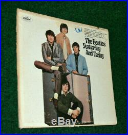 The Beatles Yesterday And Today Capitol Vinyl PROMO Album Butcher Cover T2553