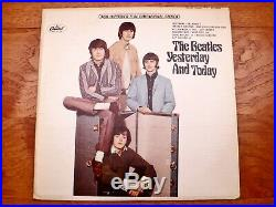 The Beatles Yesterday And Today Rare 1966 1st LA Trunk Cover Press Vinyl LP