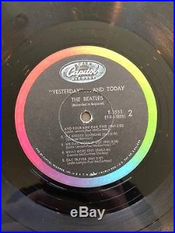 The Beatles Yesterday And Today Vinyl LP T 2553 2nd State Butcher Cover