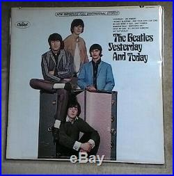 The Beatles Yesterday and Today Butcher Cover Vinyl 2nd State Very Good