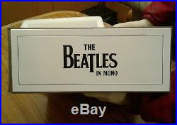 The Beatles in MONO 14 vinyl LP box set -never been removed from shipping box