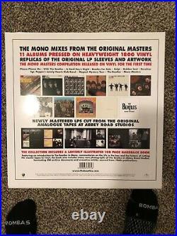 The Beatles in Mono 14 Vinyl 180 Gram LP New Box Set 108 Page Book 2014