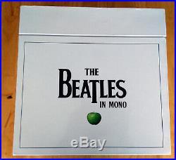 The Beatles in Mono 14 Vinyl 180 Gram New Box Set Book LP 2014 Torn Slipcover