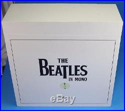 The Beatles in Mono Box Set 14 LPs 11 albums & Book (All Sealed) 180 Gram Vinyl