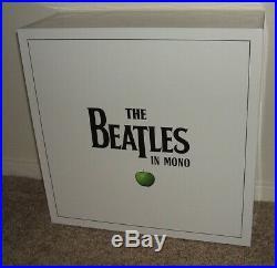 The Beatles in Mono Vinyl LP Box Set Brand New