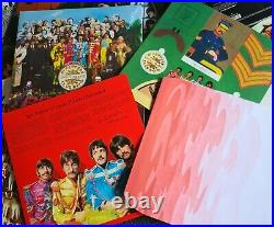 The Beatles in stereo 16x vinyl Please Please Me to Let it be 14 LP box set book