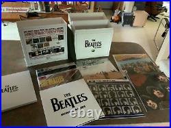 The Beatles vinyl Mono Box Set lightly used
