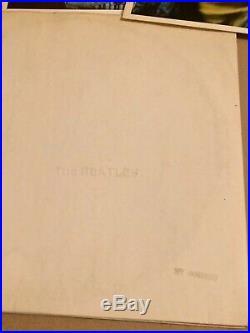 The Beatles vinyl White Album, MONO M/P. UK. No 0066090. Low Num. 1968. V/G/ VG