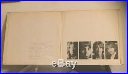The Beatles vinyl White Album, U. K. No 0005367. Low Num. 1968. Near/mint VGP