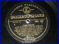 The Beatles vinyl lp Please Please Me mono PMC 1202 1st Black Gold Dick James Ex