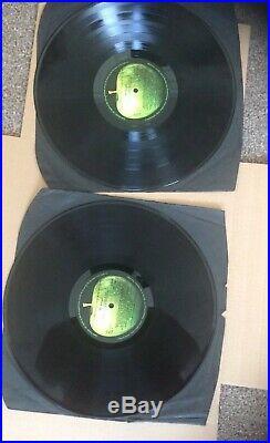 The Beatles vinyl lp White Album, U. K. No 0006683. Low Num. 1968. V. G Plus