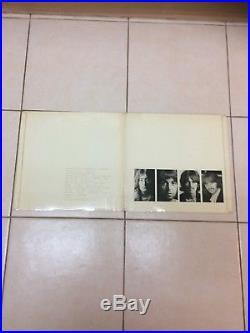 The Beatles white album vinyl